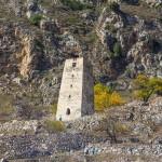 Черекское ущелье и Верхняя Балкария в осеннем цвете
